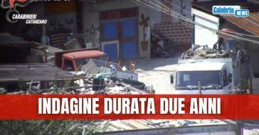 Lamezia, traffico illecito rifiuti: sgominata organizzazione a Scordovillo, arresti-NOMI