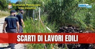 Smaltimento illegale di rifiuti, tre denunce a Ricadi