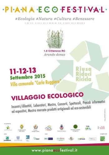 Locandina Villaggio ecologico web