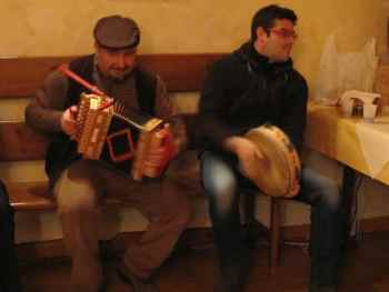 Traditional Musicians in Calabria