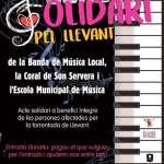 Concert de la Banda de Música Local, la Coral de Son Servera i l'Escola Municipal de Música a benefici íntegre als afectats per la torrentada de Llevant