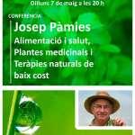 Conferència de JOSEP PÀMIES al Teatre La Unió (7 de maig a les 20h.)
