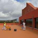 L'Ajuntament de Sant Llorenç ha iniciat les obres per millorar l'eficiència energètica de l'auditori de sa Màniga