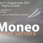 Conferència de l'arquitecte Rafael Moneo al Teatre La Unió de Son Servera