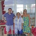 Agatha Ruiz de la Prada, Isabel Servera y Pedro Jota.