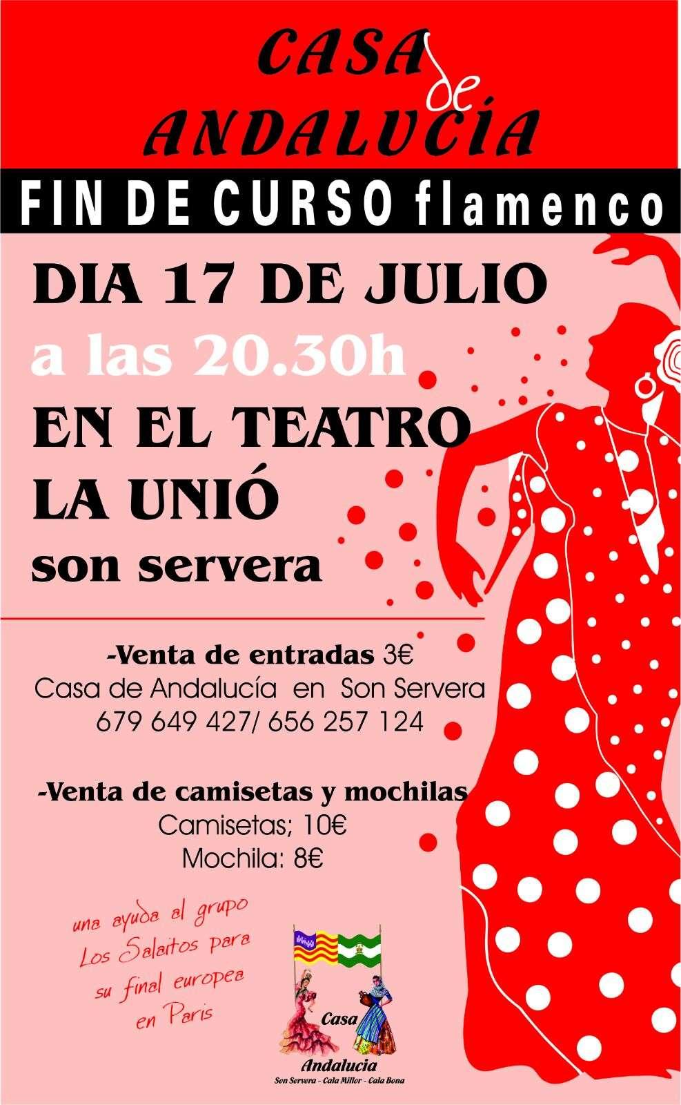fin curso flamenco