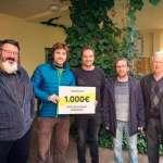 Renou Col·lectiu fa entrega de 1000€ a Aproscom Fundació i Estel de Llevant