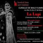 Gran curso de Baile Flamenco en la Escuela de Danza SATU JIMÉNEZ