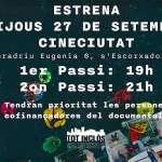 Estrena del Documental «TOT INCLÒS. DANYS I CONSEQÜÈNCIES DEL TURISME A LES NOSTRES ILLES».