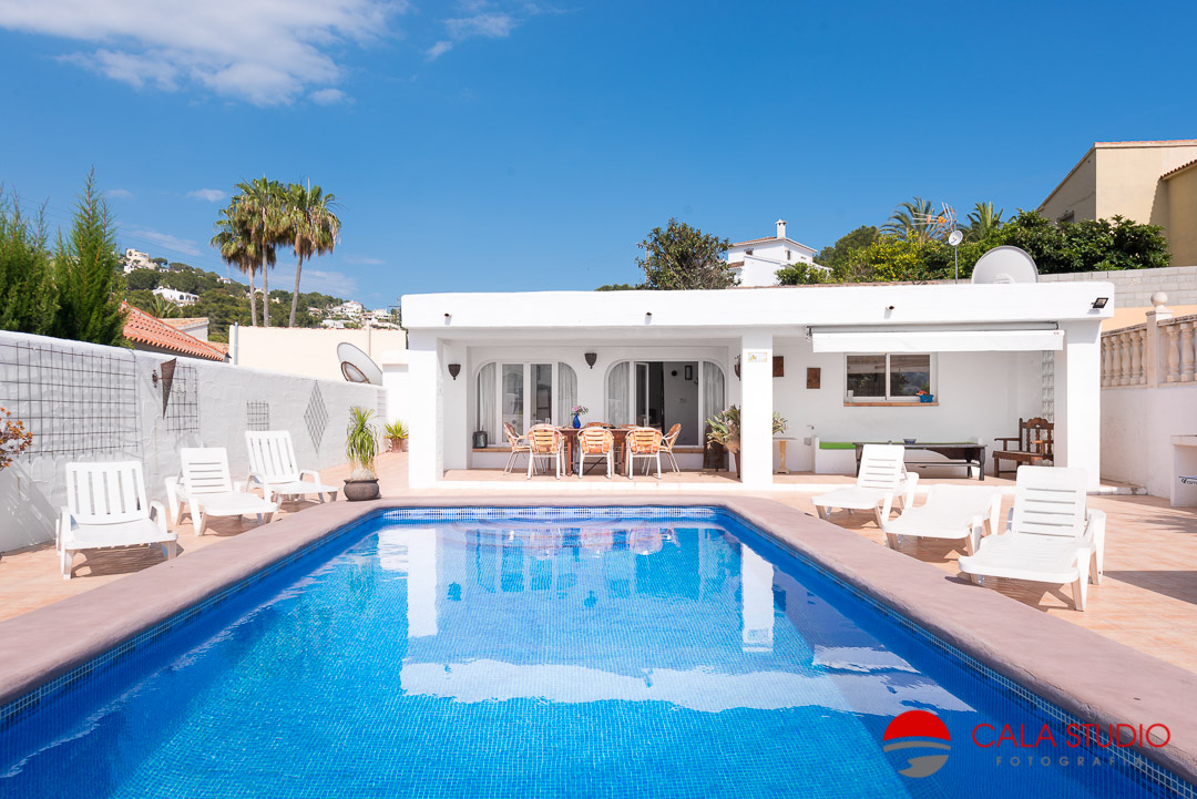 moraira property photographer holiday villas