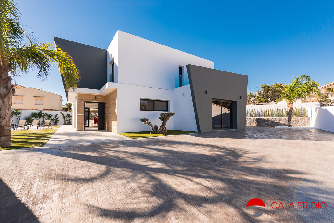 Calpe Real Estate Photographer Arquitecture Villa