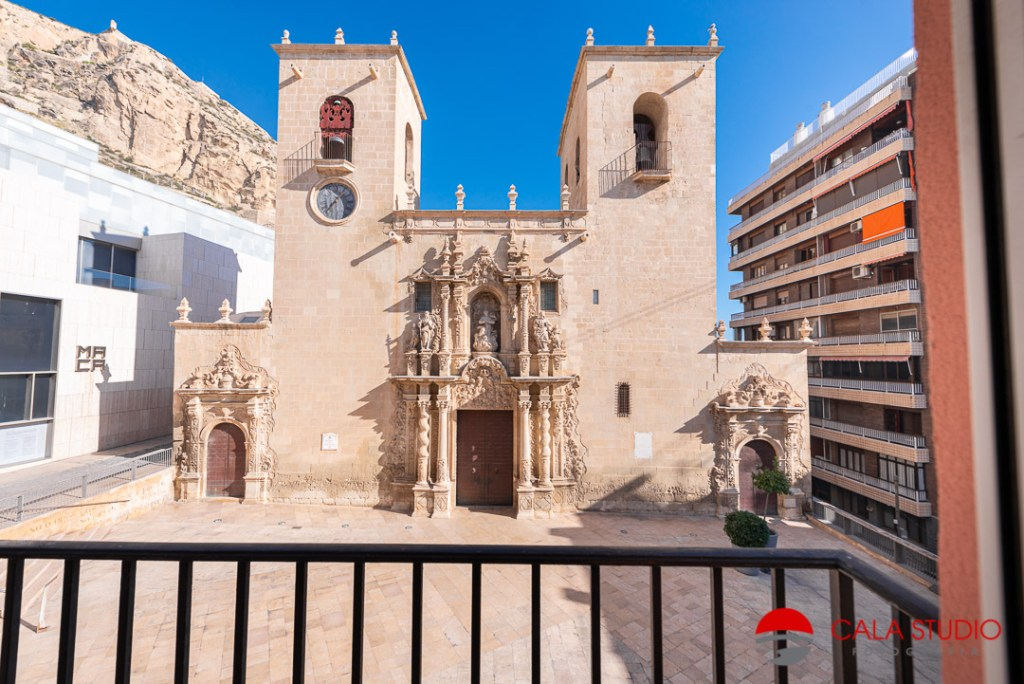 Alicante Real Estate Photography Airbnb Basilica Santa Maria