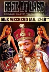 MLK promotion flyer