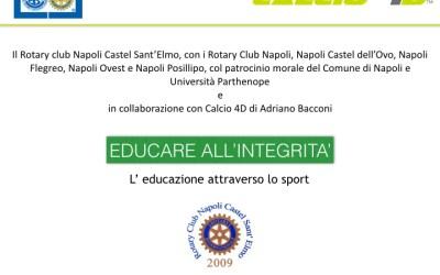 Lunedì 28 il secondo appuntamento di Calcio 4D a Napoli
