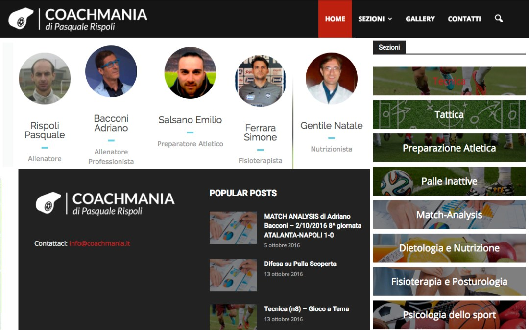 La match analysis di Adriano Bacconi su Coachmania