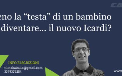 """Come alleno la """"testa"""" di un bambino? Adriano Bacconi ci svela le mosse giuste"""