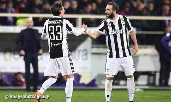 Juventus, bollettino medico: le condizioni di Higuain e Bernardeschi