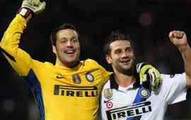 "Inter, Julio Cesar: ""Ramires corre, Lisandro Lopez va d'accordo con tutti"""