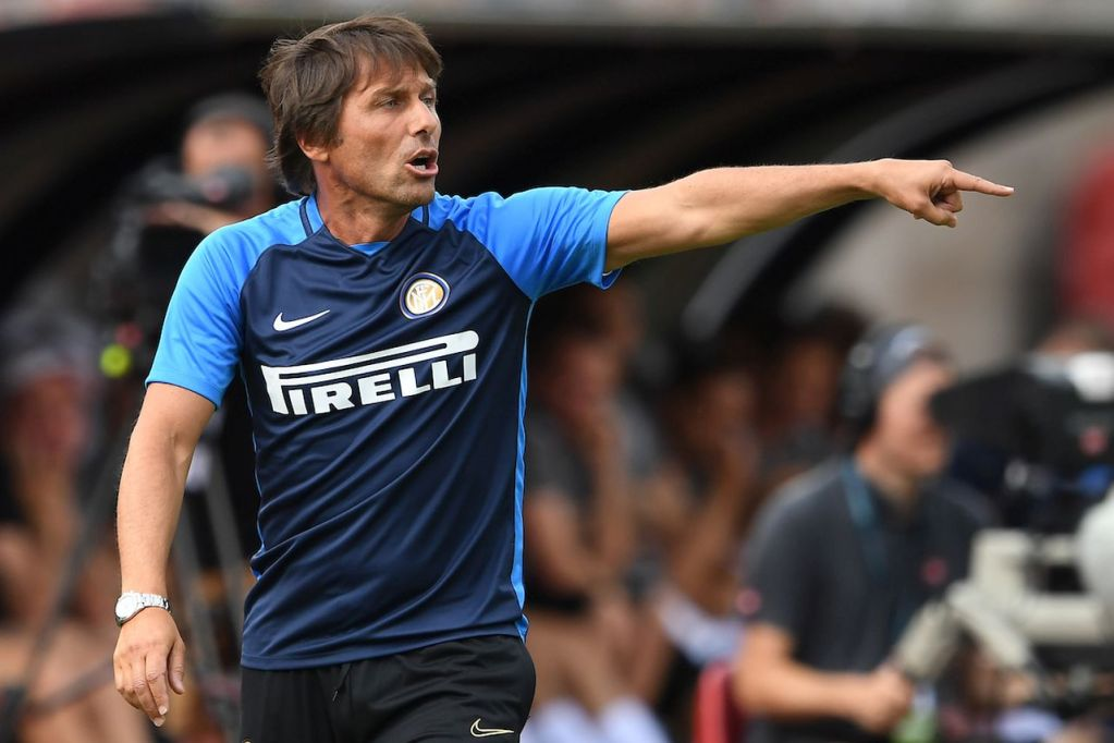 Lugano 14-07-2019  Football 2019/2020 pre season Friendly match  Lugano - Inter  Photo Matteo Gribaudi / Image Sport / Insidefoto Antonio Conte