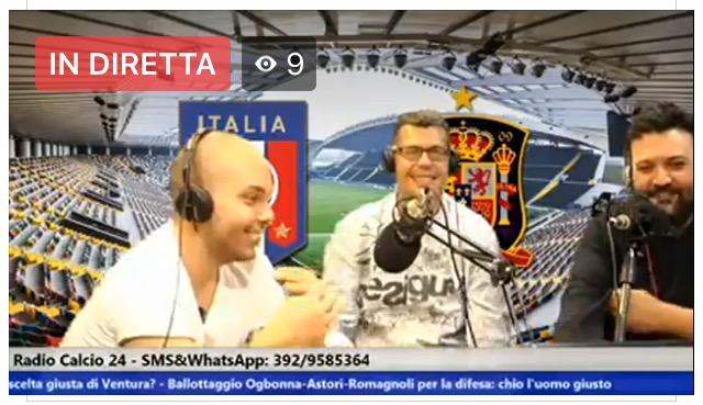 Calcioparlando a RadioCalcio24