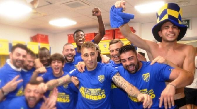 Il Frosinone vola in Serie A, il Cosenza sale in Serie B