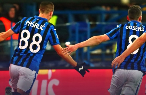 Champions League: Atalanta agli ottavi con Juve e Napoli, Inter out