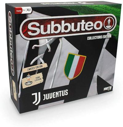 scatola completa subbuteo originale edizione juventus