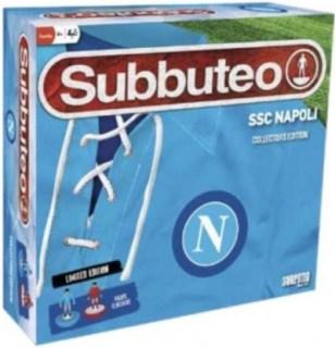 scatola completa subbuteo originale edizione napoli