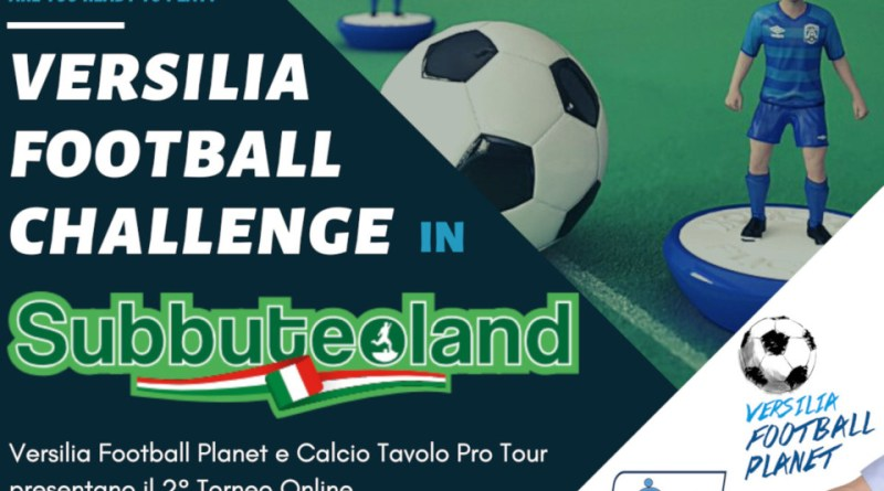 Locandina Torneo subbuteo Subbuteoland
