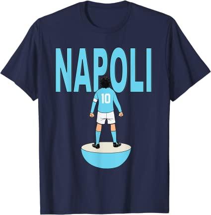 t-shirt Napoli Subbuteo Maradona