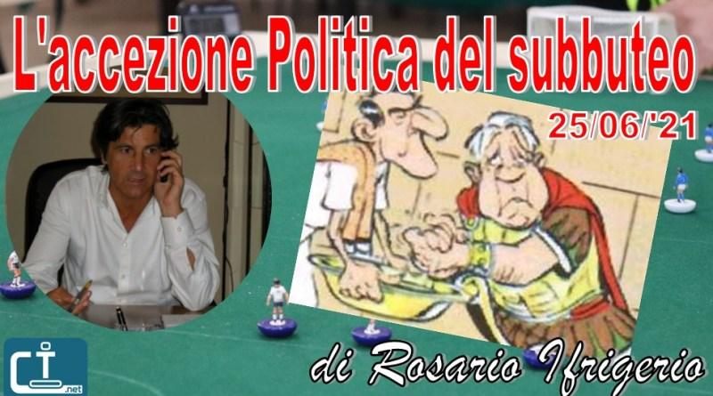 politica & subbuteo