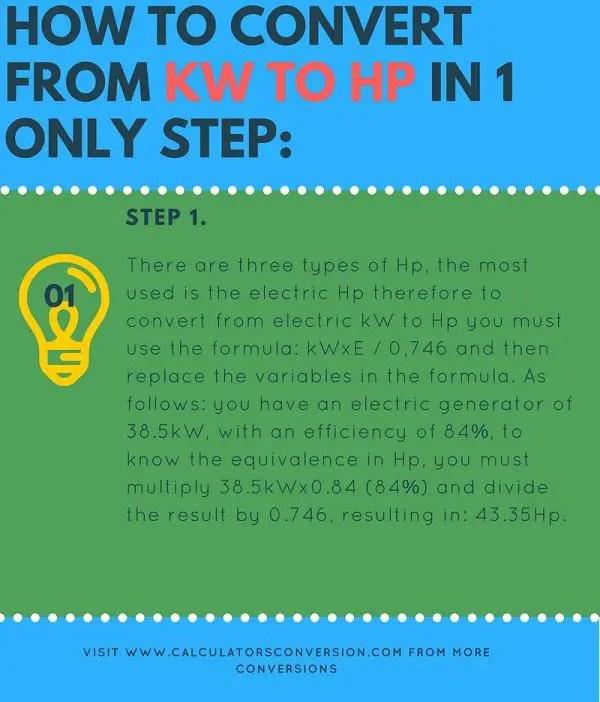 Horsepower To Amps Formula