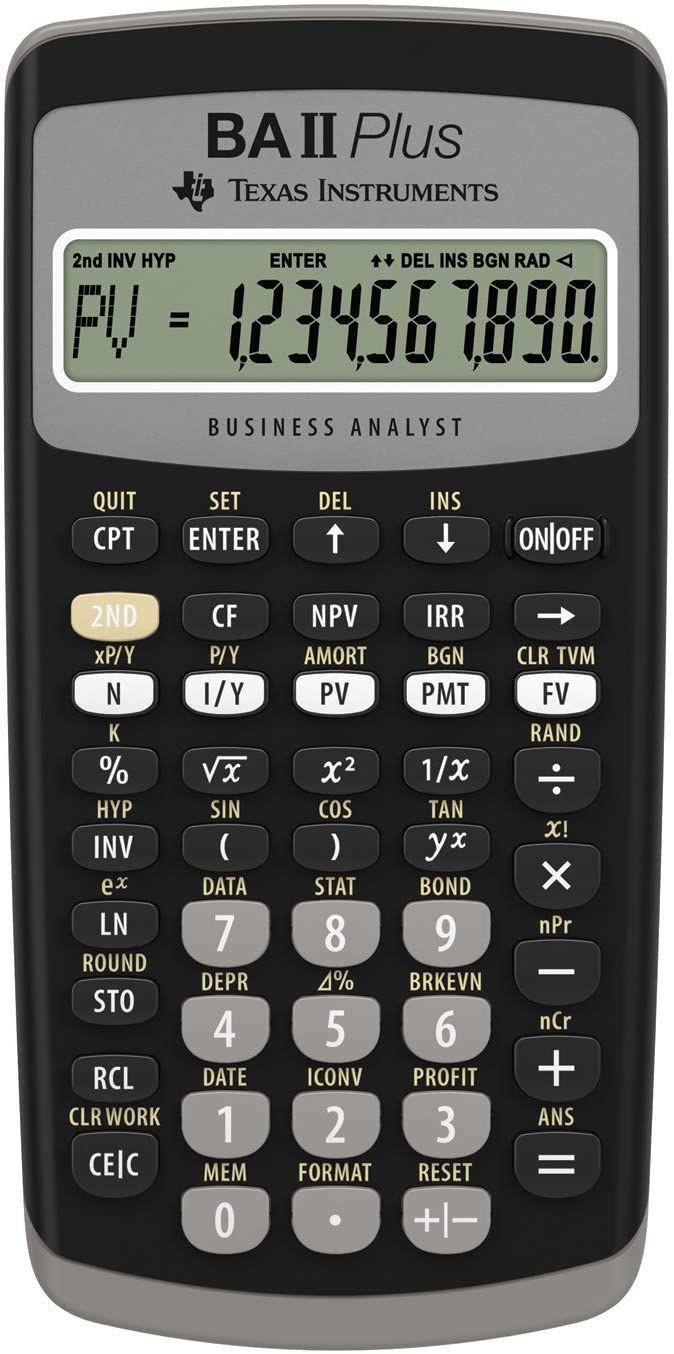 Ba Ii Plus Financial Calculator Calculators Direct Buy Calculators Online