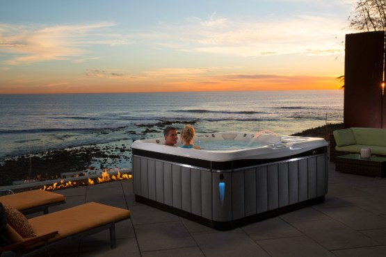 Practice mindfulness in your hot tub for a home spa experience