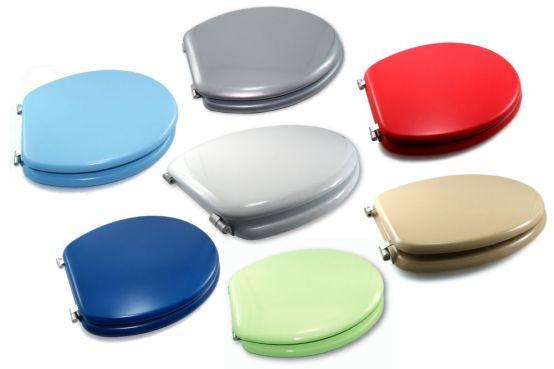 tapa para inodoro de colores