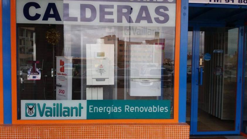 Calderas Vaillant en Valdemoro tienda