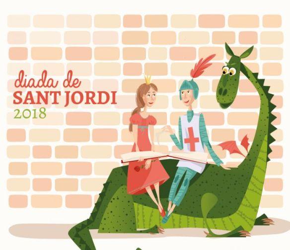 Resultado de imagen de sant jordi 2018