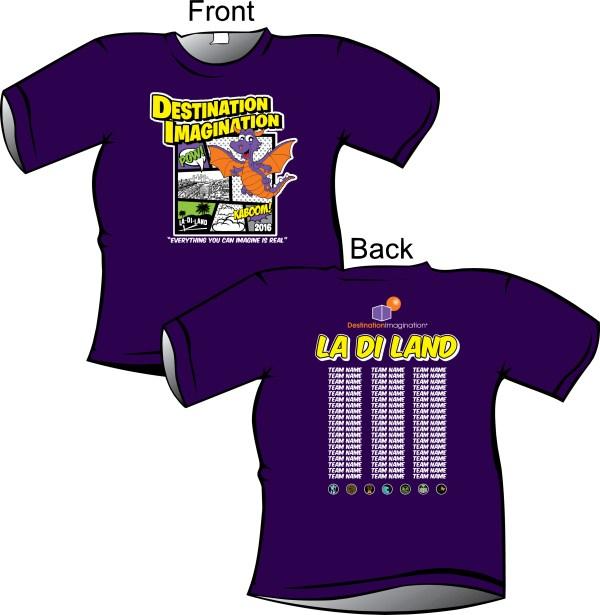 La Di Land Region Ladi T-shirts