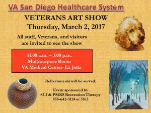 VASDHS Veterans Art Show @ VA Medical Center La Jolla | Pensacola | Florida | United States