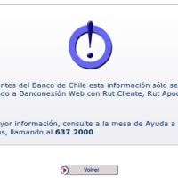 Servicio de Utilidad Publica: Banco de Chile
