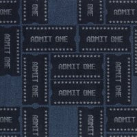 Admit One Printed Carpet
