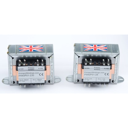 Power Transformers - for the high and low voltage supplies