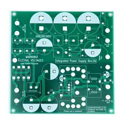Integrated Power Supply PCB
