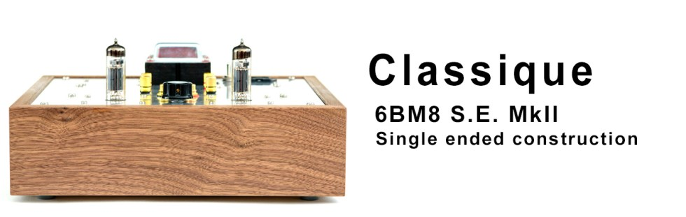 Classique – 6BM8/ECL82 SE MKII- Stereo Audio Integrated Amplifier Kit