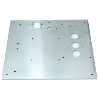 Aluminium Mounting Plate for Phono Classique DIY Preamp Kit