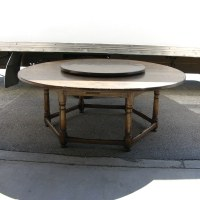 Vintage Oak Circular Dining Table |English Antiques ...