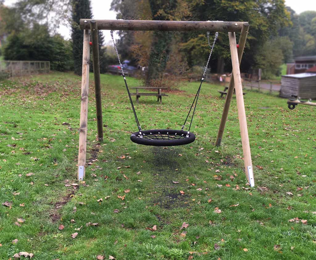 basket swing chair india upholstery design wooden fun for lots of children to use at a