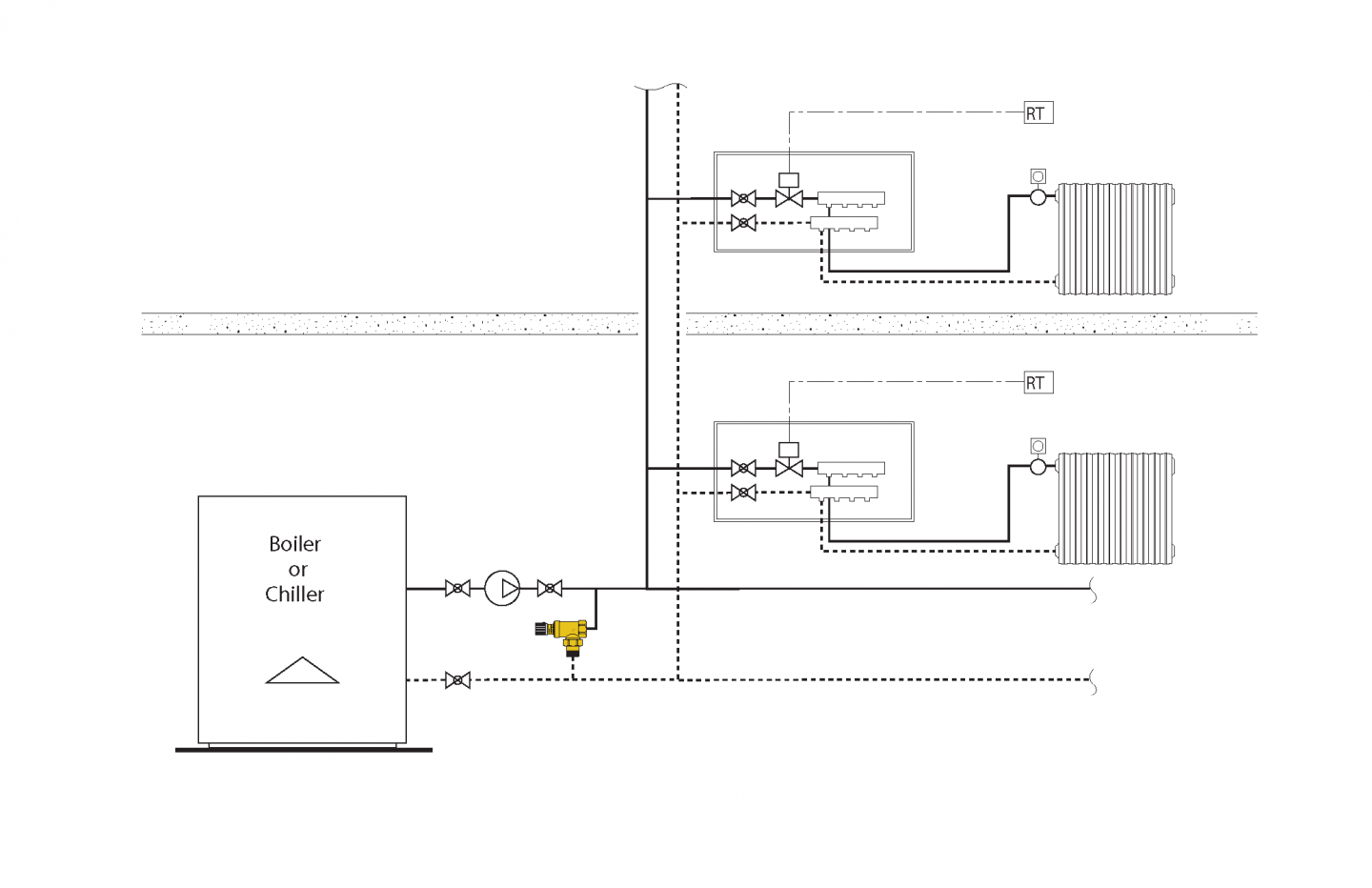 how does a differential pressure bypass valve work caleffi caleffi zone valve wiring diagram [ 1440 x 932 Pixel ]