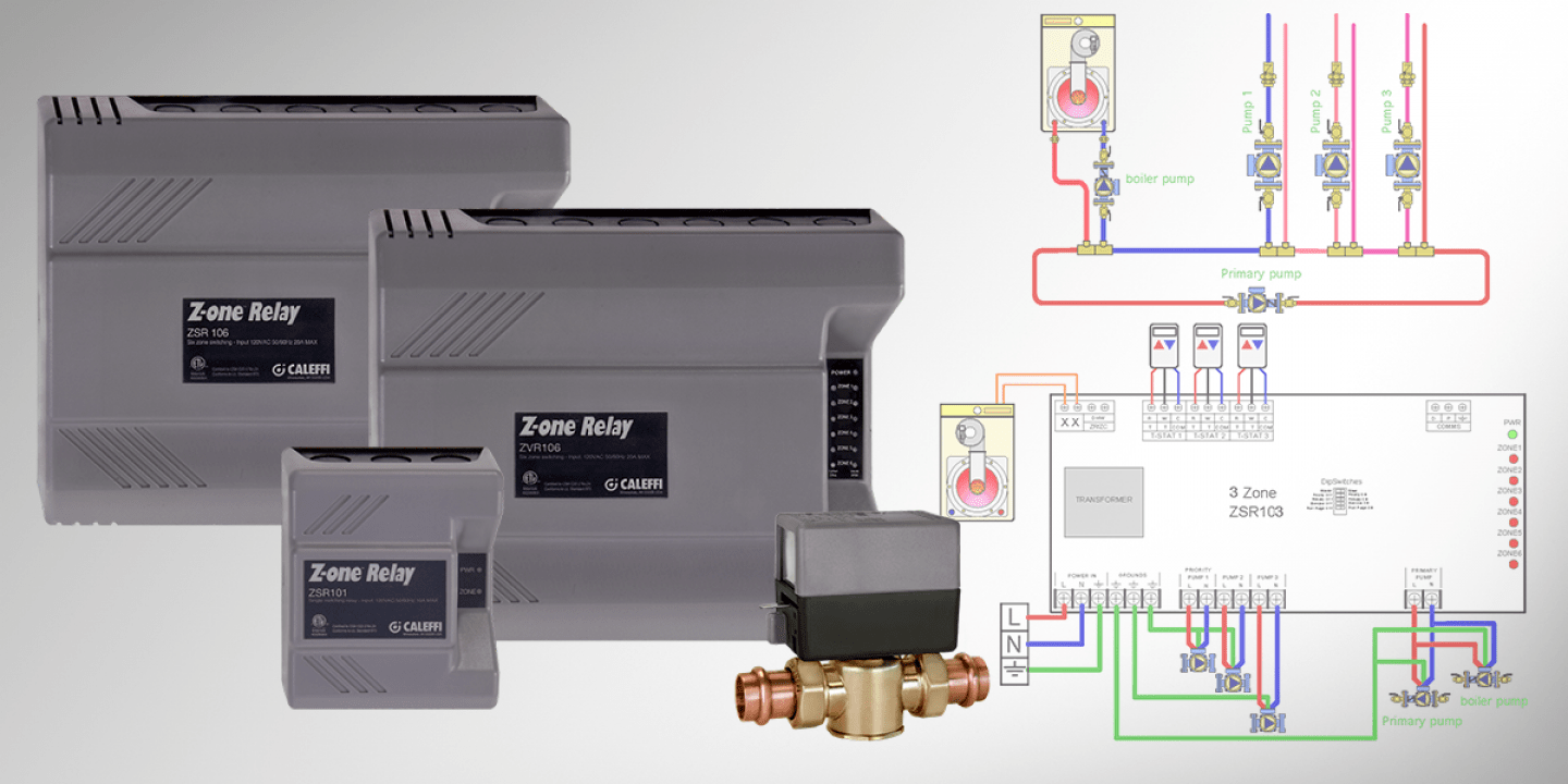small resolution of tech tip z one relay wiring guide caleffi caleffi zone valve wiring diagram