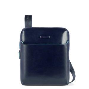 """Piquadro borsello espandibile in pelle """"B2 – Blue Square"""" CA5085B2.BLU2"""
